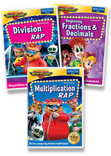 Multiplication & More 3 DVD Collection by Rock 'N Learn (New)