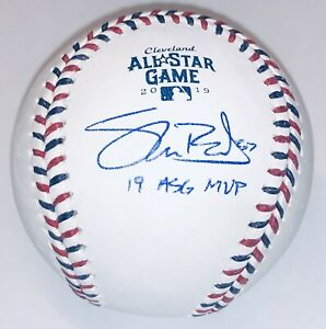 Shane Bieber Autograph Indians Signed Inscribed 2019 All-Star Game Baseball BAS