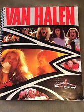 Rare Van Halen 1984 Program Picture Book Concert Memorabilia David Lee Roth