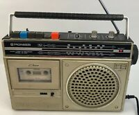 Vtg Pioneer RK-560 Radio Cassette Recorder GC Boom box Tested Good Working Order