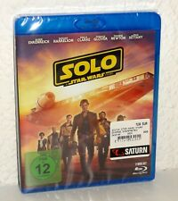 Blu-Ray Solo A Star Wars Story