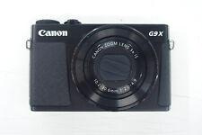 Canon PowerShot g9x fotocamera digitale usato in scatola originale g9 X NERO/BLACK