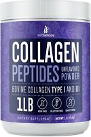 ❤Premium Collagen Peptides Powder Hydrolyzed Anti-Aging Protein 1 LB