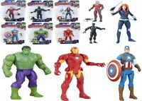 Marvel Avengers 6 Inch Basic 4+ Toy Captain America Iron Man Hulk Black Panther