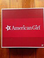 American Girl Doll Kit's Glassware & Linens Set New in Box Retired