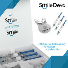 Teeth Whitening Gel Kit - Smile Deva - FREE SHIPPING