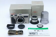 S/count 0035【MINT in Box】FUJIFILM TX-1 Camera W/45mm F4 Lens Hood From Japan#678