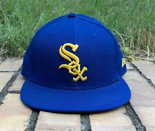 New Era MLB Chigago Sox Fitted Cap - 7 1/4  57.7cm - Blue