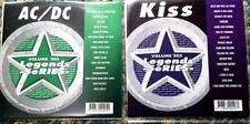 2 CDG KARAOKE LEGENDS DISCS KISS & AC/DC 1970S HARD ROCK CD+G OLDIES HELLS BELLS