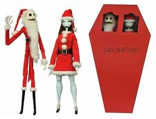 Diamond Select Jack and Sally Nightmare Before Christmas Coffin Set Figures NEW