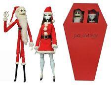 Diamond Select Jack and Sally Nightmare Before Christmas Coffin Set Figures NEW