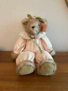 "Bearington Collection Bear Heather #1026 FALL 1999 17"" TALL W/ORIG TAG Rare"