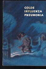 Colds Influenza Pneumonia Booklet Metropolitan Life 1950