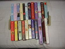 Lisa Kleypas, Mary Balogh, Jane Feather 22 book lot  - Regency/Romance 20PB  2HC