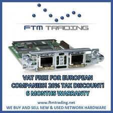 Cisco VWIC2-2MFT-T1/E1 WAN Voice REFURBISHED 2800 3800 2900 3900 E1 ISDN PRI