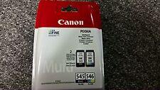 Genuine Canon PG-545/CL-546 Black Colour Set Ink Pixma iP2850 MG2950 MX495