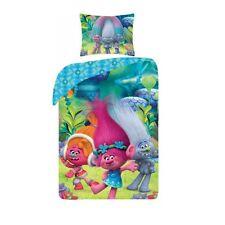 Trolls Kinder Bettwäsche Linon100% Baumwolle NEU Original