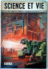 SCIENCE ET VIE n°384 du 11/1949; Repeuplement des chasse de France/ Trains Talco