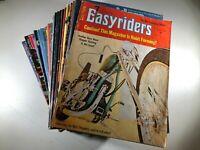 Huge Lot of 30 Easyriders Magazine 1970s 80s No Centerfolds 1972 1976 1977 1980