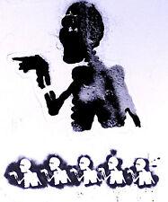 Overseer 2003 Wreckage Electronic Original Promo Poster