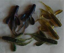 Leurre souple Créature 8,5cm 4,6g 3 couleurs  pêche perche sandre black bass....