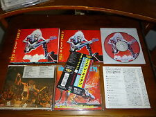 Iron Maiden / A Real Live One JAPAN w/Booklet TOCP-7598 1ST PRESS *V