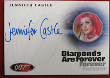 JAMES BOND - Diamonds Are Forever - JENNIFER CASTLE - Acorn - Autograph Card