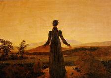 "Caspar David Friedrich ""Woman before the setting sun"" 1818 POSTCARD 4x6"