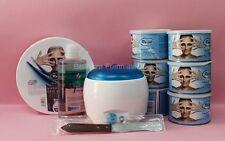 kit depilazione Ro.ial completo di scaldacera + 6 vasi + olio