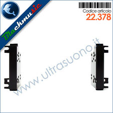Mascherina supporto autoradio 2DIN Jeep Compass (MK49 rest. dal 2011) Nero