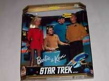 MIB 1996 BARBIE AND KEN STAR TREK 30TH ANNIVERSARY DOLL GIFTSET MATEL 15006 TOY