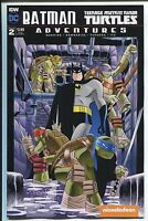 Batman Teenage Mutant Ninja Turtles Adventures #2 sub cover dc idw comic