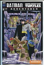 Batman Teenage Mutant Ninja Turtles Adventures #2 sub cover dc idw comic