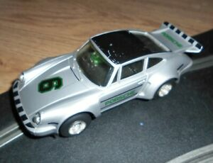 Scalextric C125 vintage Porsche 911 / 935 touring / rally car superb with lights