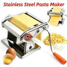 Adjustable Pasta Maker Machine Lasagne Spaghetti Tagliatelle Ravioli Cutter DIY