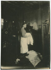 Lewis HINE: Steam Laundry, New York City, c. 1910 / VINTAGE silver / LH050