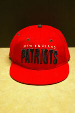 OFFICIAL 'BUDWEISER' 'NEW ENGLAND PATRIOTS' RED SNAP BACK HAT