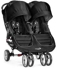 WÓZEK BABY Jogger CITY MINI DOUBLE BLACK,TEAL RED Twin Baby Pushchair