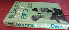 BEASTS In My BED -  Jacquie Durrell.   1967 HbDj    Biog WIFE of Gerald Durrell