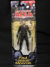"THE WALKING DEAD PAUL ""JESUS"" MONROE MCFARLANE SERIES 4 COMIC BOOK FIGURE NEW"