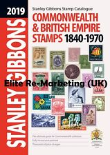 Gb - 2019 Stanley Gibbons Commonwealth & Britannique Empire timbres catalogue