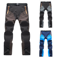 New Mens Womens ClimbingTrousers Rain Pants Motorcycle Fishing Hiking HO