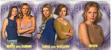 Buffy TVS Season 5 Complete Girl Power Chase Card Set BL1-3