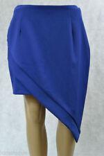 Knee-Length Wrap, Sarong Solid Regular Size Skirts for Women
