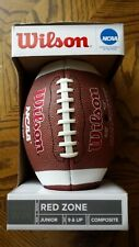 Wilson Red Zone Series Official Junior Composite Football in Box New