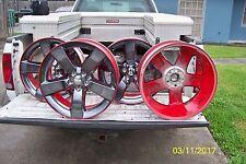 "20"" Dodge CHALLENGER Charger  Rally Redline Wheels (Set of 4)  OEM"