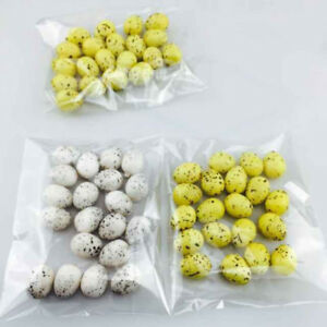 artificial Quail egg Fake Egg Faux fruit Home kitchen Decor Staging Theat