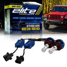 GENSSI Elite LED Bulb Headlight Lamp Upgrade Low Kit for Jeep Wrangler JL 2018+