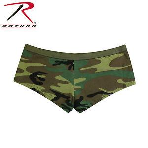 Rothco 5476 Woodland Camo Booty Shorts