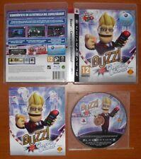 Buzz! Concurso Universal (Quiz World) PlayStation 3 PS3, Ver. Española, COMPLETO